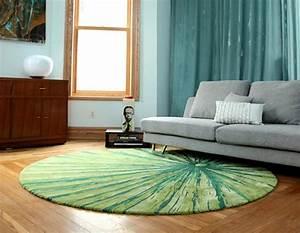 tapis de sol design pour une deco unique design feria With tapis de sol avec canapé en rond