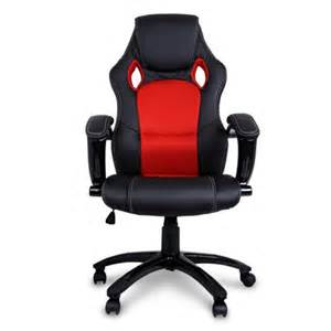 red black pu leather recaro race style seat home office