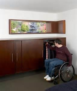 Wheelchair-Accessible Closet