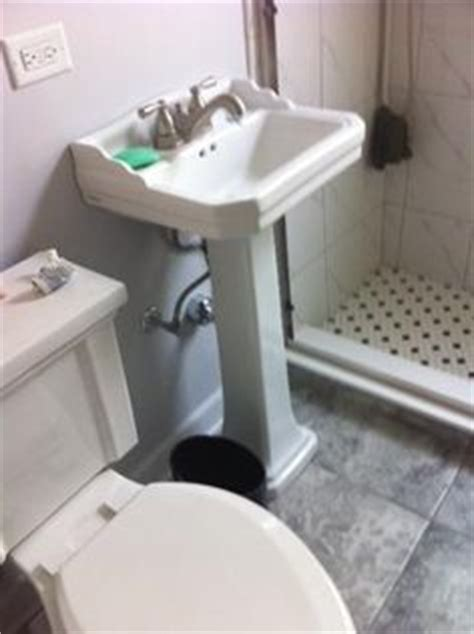 glacier bay westminster 21 in pedestal sink basin in
