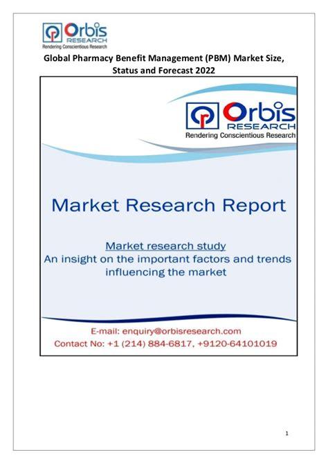 Global Pharmacy by 2017 Global Pharmacy Benefit Management Pbm Market