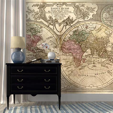 peinture pour une cuisine papier peint et posters grand format de cartes du monde