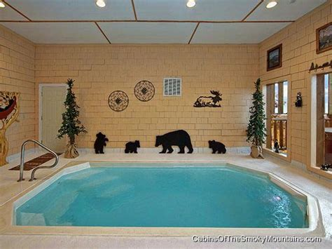 smoky mountain cabins with indoor pools gatlinburg cabins with indoor pools