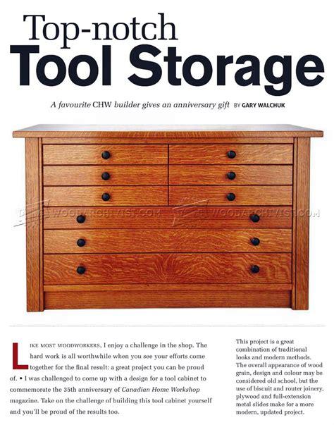 Wood Magazine Tool Cabinet Plans