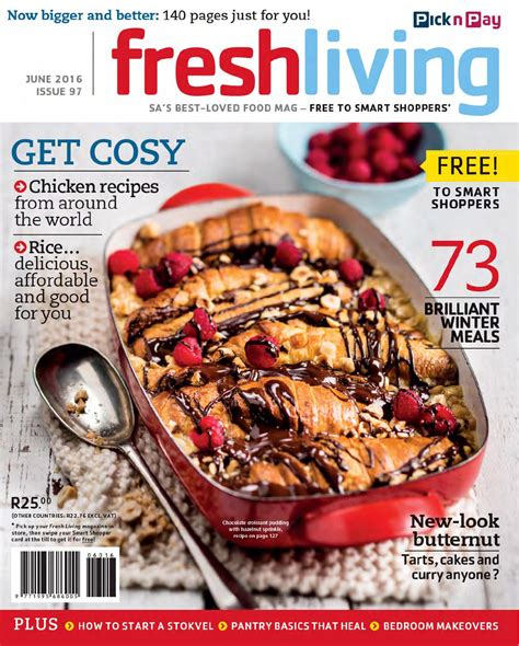 Fresh Living Junejuly 2016 By Pick N Pay Issuu