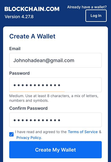 The new blockchain ios wallet marks an important moment for the bitcoin ecosystem as the first major bitcoin company to have its app reinstated in the app. How to Create Bitcoin Account For Free - BUY HACKED LOGINS 2020
