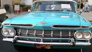 1959 Chevy Impala Convertible Turqwht Thevillages121716