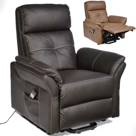 fauteuil releveur relaxation diamant cuir 2 moteurs