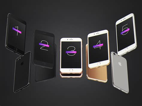 iphones for free iphone 7 mockup free psd psd