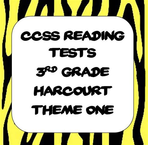 Common Core Tests For 3rd Grade Harcourt Trophies  Harcourt Trophies Ideas  Pinterest Common