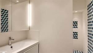 salle de bains carreaux de ciment bahya cote maison With salle de bain carreau ciment