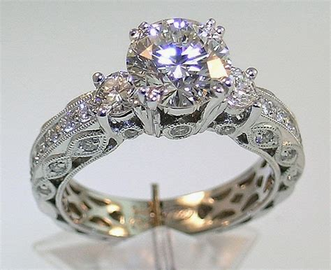 Latest Fashion World: Most Beautiful Engagement Rings For Women 2014
