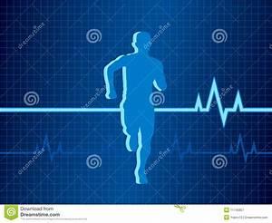 Healthy Heartbeat Vector Illustration Royalty Free Stock ...