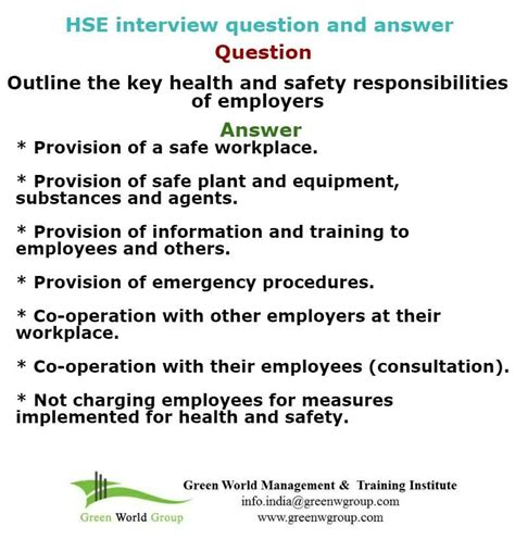 Health Questions And Answers by Pin By Health And Safety Course On Hse
