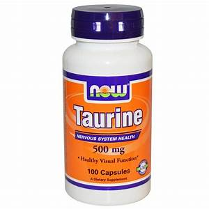 Taurine Now Foods Dietary Supplement Australia