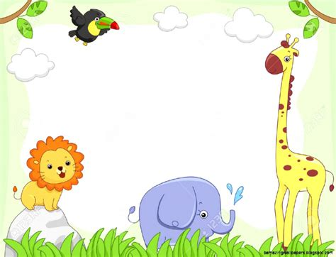 Animal Border Wallpaper - baby farm animal wallpaper wallpapersafari
