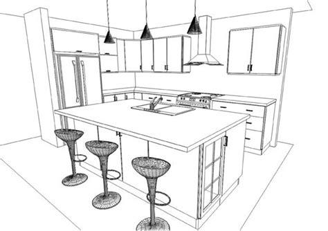 dessins de cuisine dessin armoire de cuisine table de lit