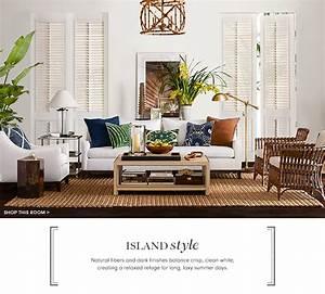 Island Style Furniture Decor Williams Sonoma