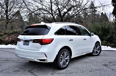 Acura Car Reviews by 2017 Acura Mdx Elite 6 Passenger Road Test Review The