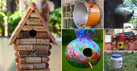 28 Best Diy Birdhouse Ideas With Plans And Tutorials  Balcony Garden Web