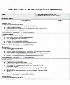 self assessment templates employees - samples employee evaluations