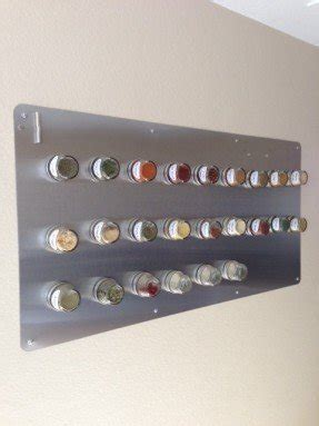 Stainless Steel Wall Spice Rack by Stainless Steel Wall Spice Rack Foter