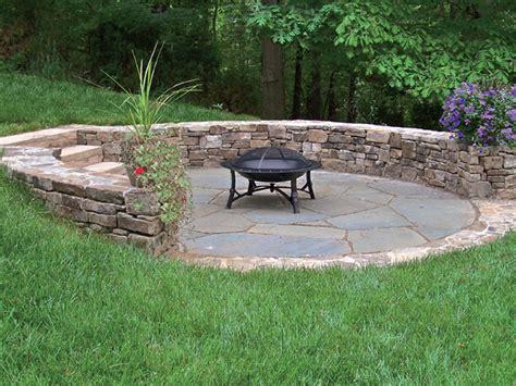 fieldstone patio fieldstone seat wall irregular bluestone patio stone slab steps stone brick masonry