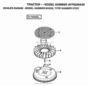 Ayp  Electrolux Ayp8209a59  1995  Parts Diagram For Flywheel