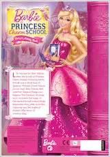 barbie princess charm school story  activity book