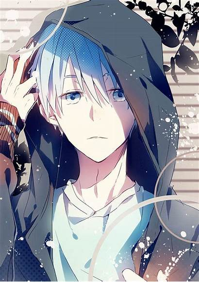 Anime Guy Hooded Wallpapers Cave
