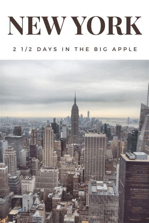 york city break     days   big apple