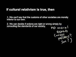Philosopher dis... Cultural Relativism