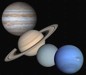 A Few Facts About the Gas Giants