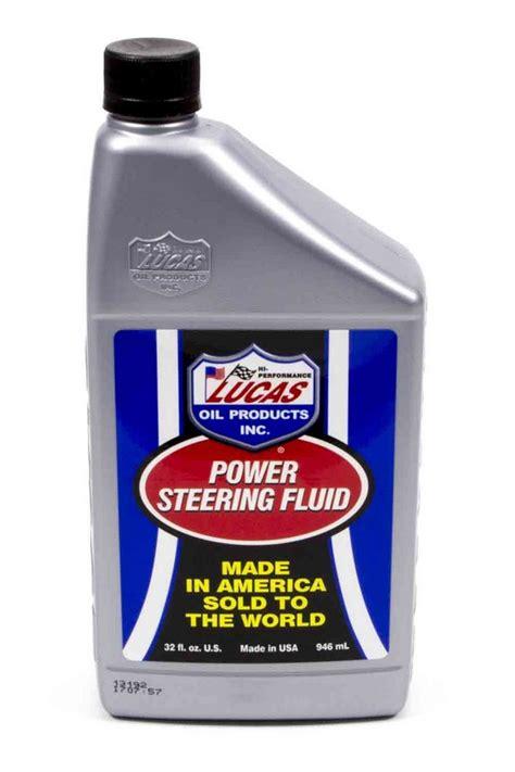 lucas oil power steering fluid 1 qt p n 10824 ebay
