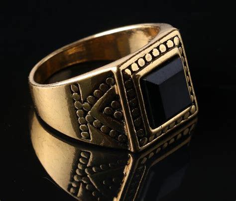 classic biker men ring 2015 vintage men wedding jewelry