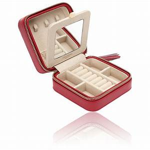 Boite A Bijoux Originale : boite bijoux cuir rouge caroline voyage wolf ocarat ~ Teatrodelosmanantiales.com Idées de Décoration
