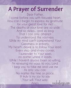 A Prayer of Sur... Daily Surrender Quotes