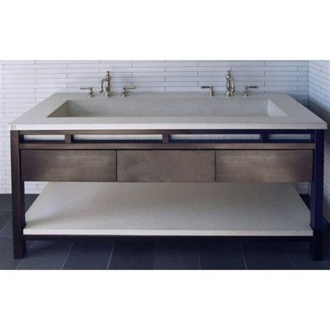 double trough sink bathroom vanity double vanity trough sink undermount freestanding