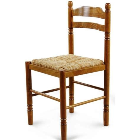 chaise pour salle à manger chaise de salle à manger en bois paille jeanne 424