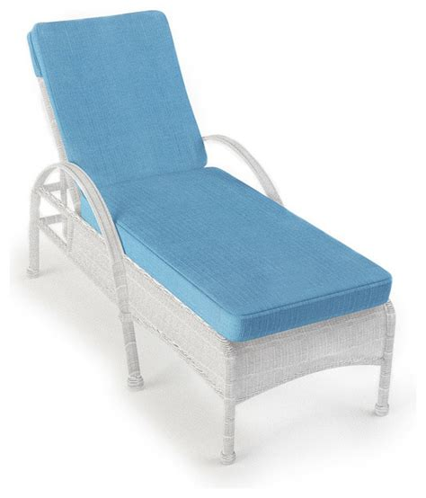 rockport outdoor wicker chaise lounge white wicker