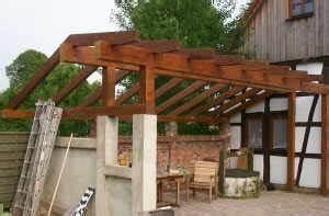 Terrassendach selber bauen uberdachte terrasse for überdachte terrasse selber bauen
