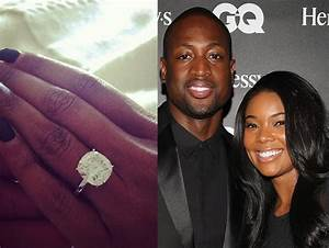 gabrielle union39s engagement ring from dwyane wade With gabrielle union wedding ring