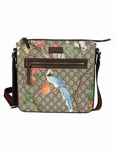 aea191d16795 gucci gucci tian gg supreme messenger bag cacao men 39 s shoulder bags  italist