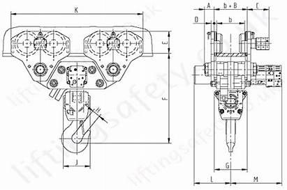 Hoist Drawing Monorail Trolley Profi Hydraulic Eh