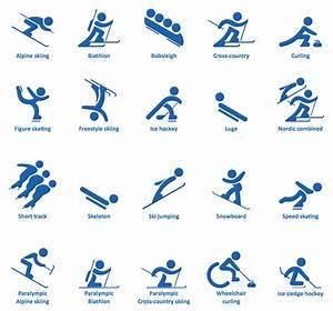 Snowboard - Winter sports pictograms   Design elements ...
