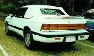 1995 Chrysler Lebaron Service Repair Manual 95