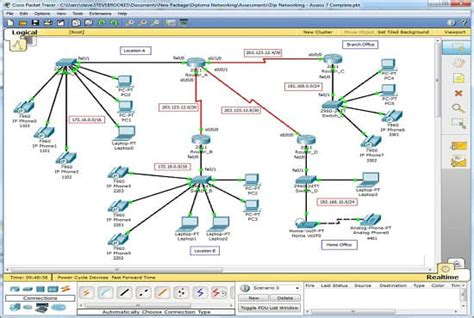 Make Your Cisco Packet Tracer Topologies By Sketzo