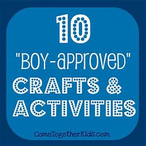 e To her Kids 10 Crafts and Activities for Boys