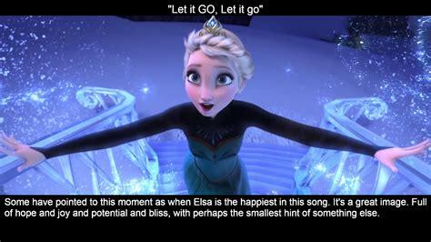 Elsa's Facial Expressions During