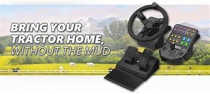Saitek Farm Logitech Wheel Farming Simulator Control